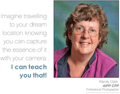 Wendy Clark - AIPP CPP Professional Photographer